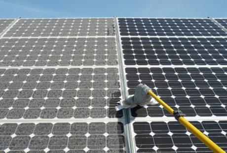 limpiar placas solares
